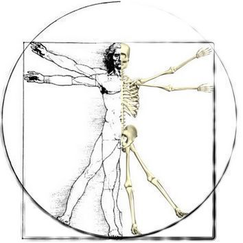 vitruvian man listen to your body christian lautenschleger