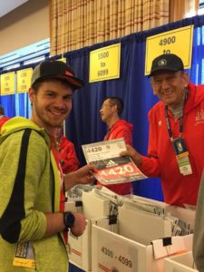 Boston Marathon Race Report Bib Pickup