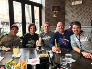 Boston Marathon Race Report Group at Stephanies